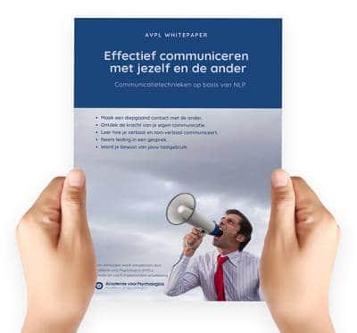 Effectief communiceren met jezelf en de ander