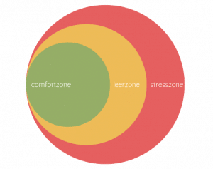 comfort zone fases